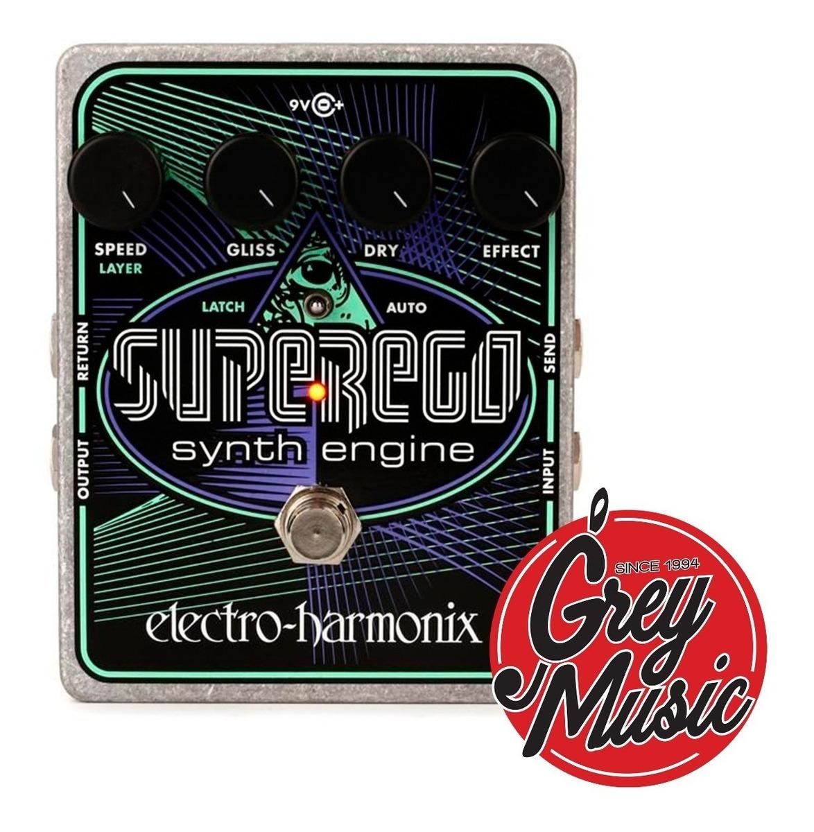 Pedal Electro Harmonix Super Ego  (141102) Synthesizer Synth