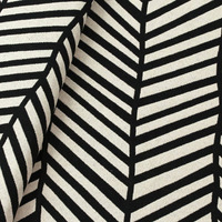 Tecido para almofada decorativa preto Coleção Vicenzza