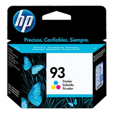 Cartucho Hp 93 Original Tinta Color C9361w