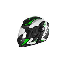 Capacete Mixs Gladiator Neo Preto Fosco Verde