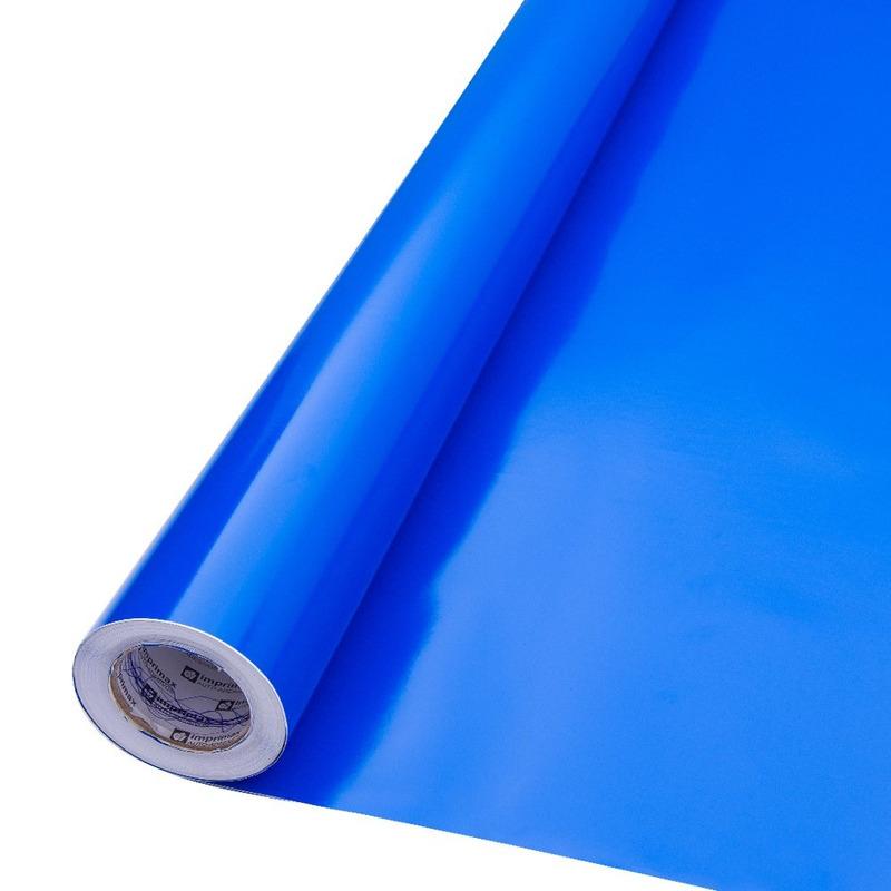 Vinil adesivo Goldmax azul larg. 1,22 m