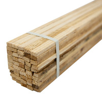 Ripa de madeira para faixa  0,75 x 0,02 x 0,01 m pacote com 50 unidades