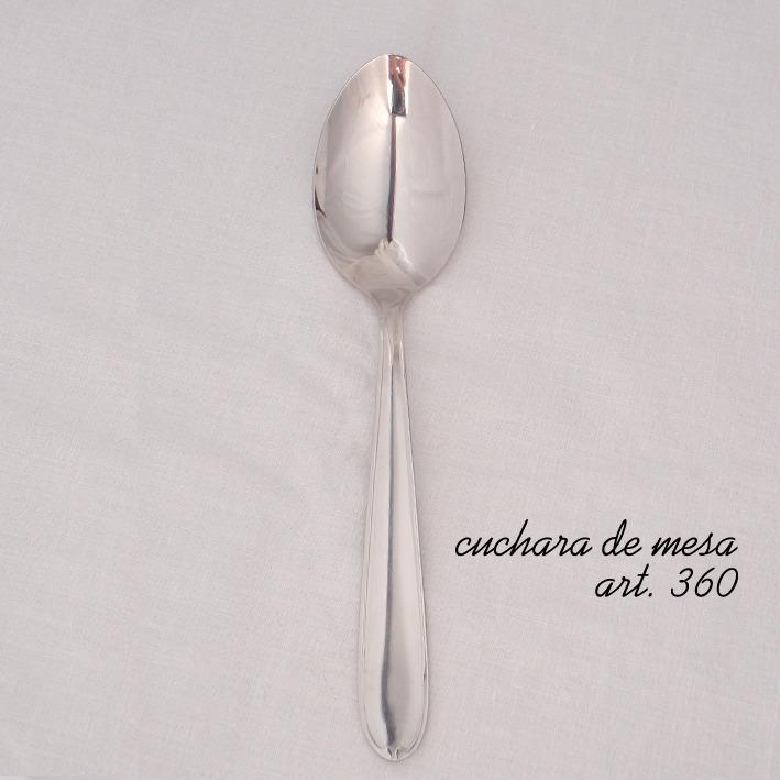 cuchara de mesa x 10 doc