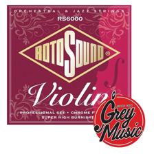 Encordado Para Violìn Rotosound Rs6000 - Grey Music -