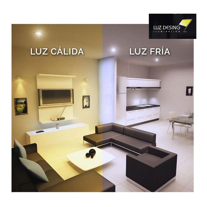 Lampara Led 9 / 10w Luz Calida O Fria Rosca E-27 =80w