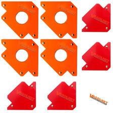 8 Escuadra Soporte Magnetica 4 X 3 Pulgadas + 4 X 5 Pulgada