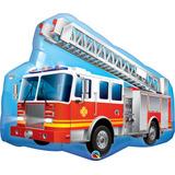 globo camion bomberos 90cm desinflado apto helio / aire