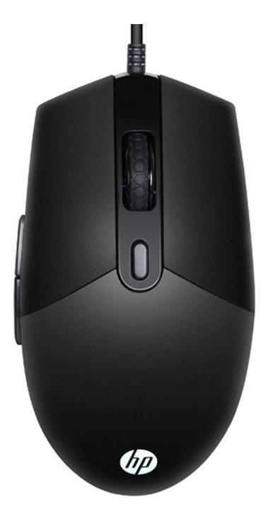 Combo Kit Hp Gamer Teclado + Mouse Km300f Led Rgb