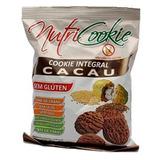 NutriCookie Integral de Cacau Sem Gluten - 120g - NutriPleno