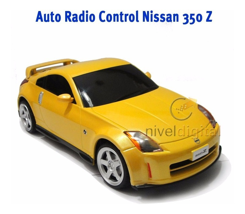 Auto Nissan 350 Z Licencia 1/ 24 Radio Control Full Fuction