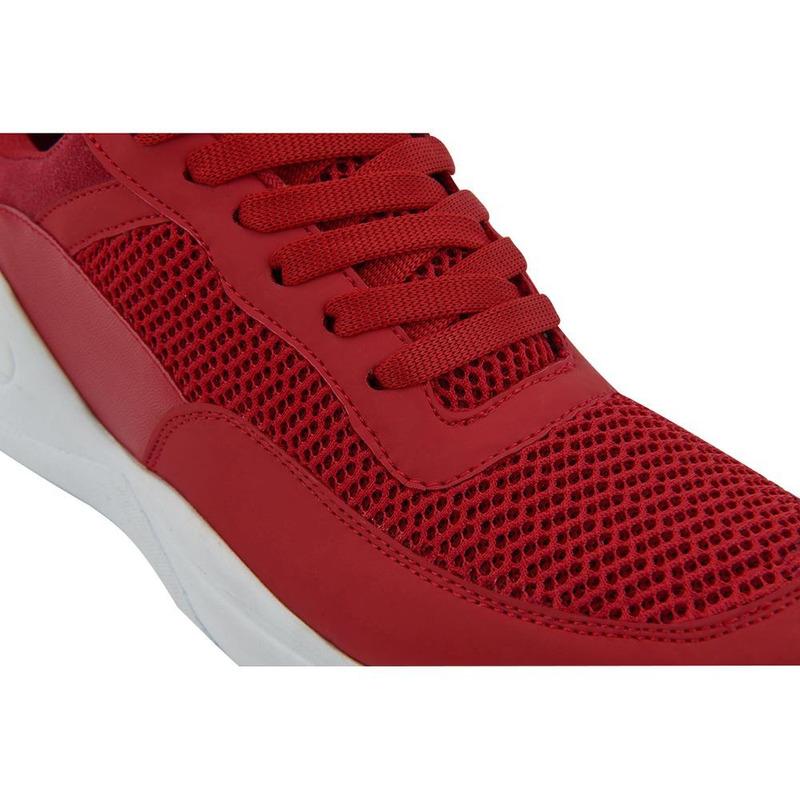 Deportivo Rojo Con Acabado Textil 017539