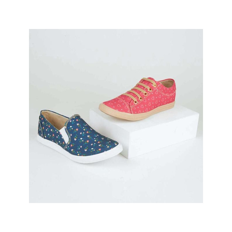 Combo sneakers estampados 018868