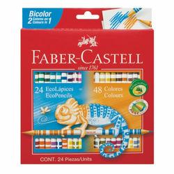 LAPICES DE COLORES FABER CASTELL DOS ...