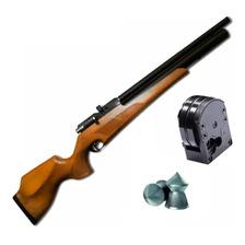 Rifle Aire Comprimido Fox Pcp M16 5.5 - Regulado - 10 Tiros