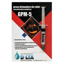 Grasa Disipadora Calor Metalica 5cc Jeringa Delta Centro
