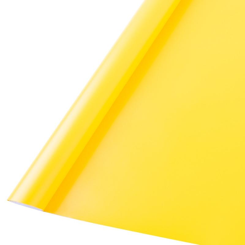 Vinil adesivo maxlux amarelo médio translúcido larg. 1,22 m