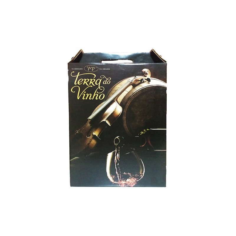 Caixa p/ 3 Garrafas - Adega Terra do Vinho