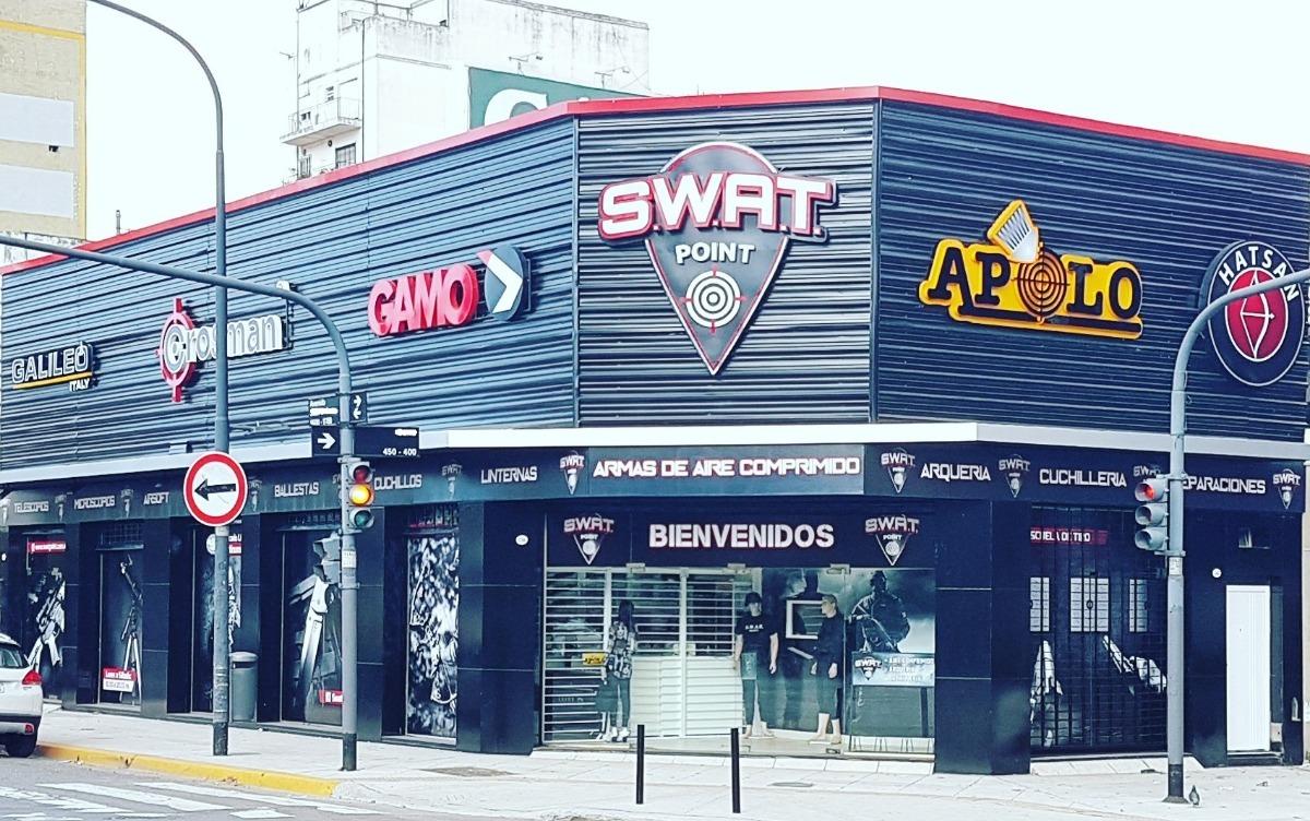 Combo Estuche Rigido Lentes Lubrioring Pistola Co2 Swat