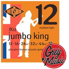 Encordado Para Guitarra Acustica Rotosound Jk12 - 12 / 54