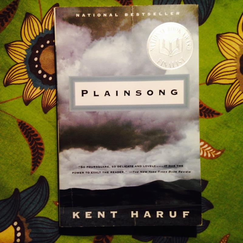 Kent Haruf.  PLAINSONG.