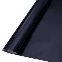 Vinil adesivo colormax preto brilhante larg. 0,50 m