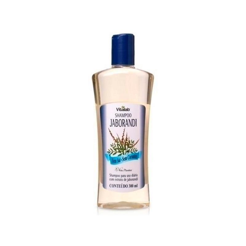 Shampoo com Extrato de Jaborandi Sem Sal - 300ml Vitalab
