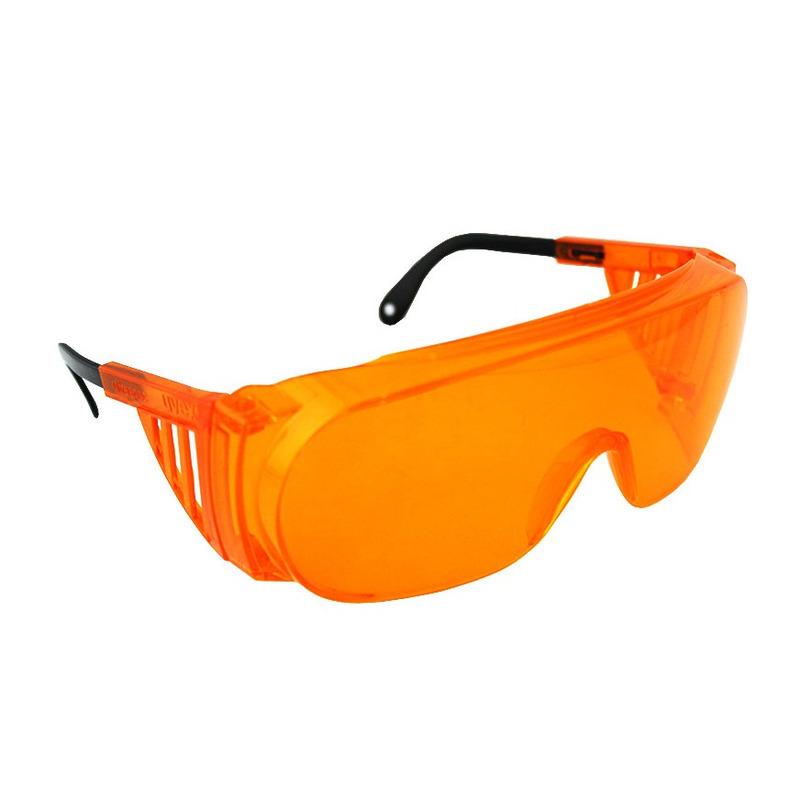86909e615fd6a Honeywell Óculos De segurança Uvex Ultra-spec 2000 Armação laranja lente ...