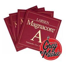 Encordado Larsen Magnacore Medium Para Cello 4/4