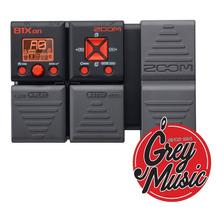 Pedalera Multi Efectos Para Bajo Zoom B1xon - Grey Music -