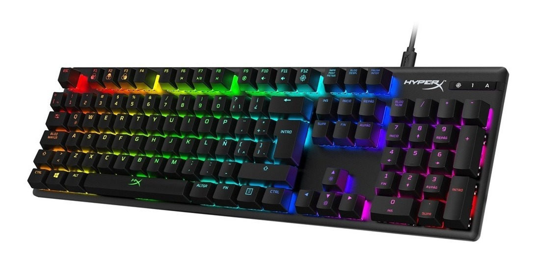 Teclado Mecanico Gamer Hyperx Alloy Origins Rgb Switches Hx