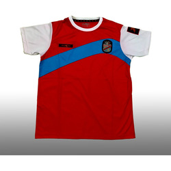 Camiseta de niño roja