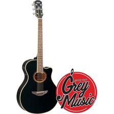 Guitarra Electroacústica Yamaha Apx700ii Bl Negro