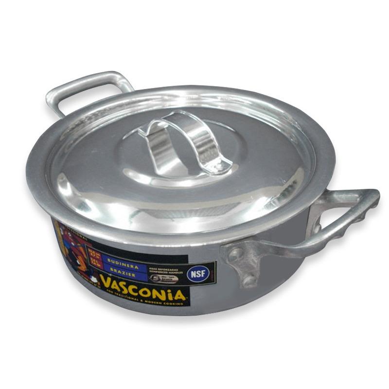 Budinera 22 Cms Aluminio T/F  Vasconia 1821600
