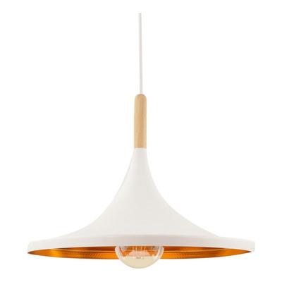 Lampara Colgante De Techo Beat Wide 1 Luz E27 Aluminio