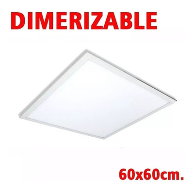 Panel Led Embutir 60x60 Dimerizable Directo 220v Luz Desing