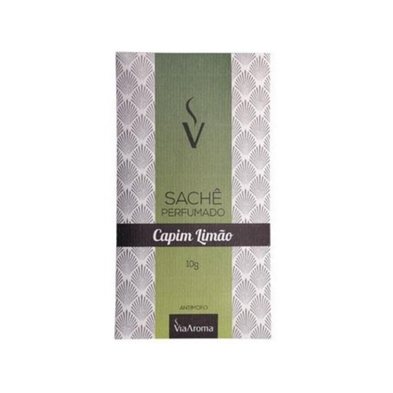 Sache Perfumado - Aroma Capim Limão - 10g - Via Aroma