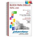BLOCK PARA DIBUJO PLANTEC 120grs - A5/40hj