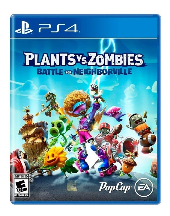 Plants Vs. Zombies Neighborville Ps4 Fisico Sellado Original