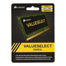 MEMORIA RAM 8GB 1X8GB CORSAIR CMSO8GX3M1C1600C11 VALUE SELECT