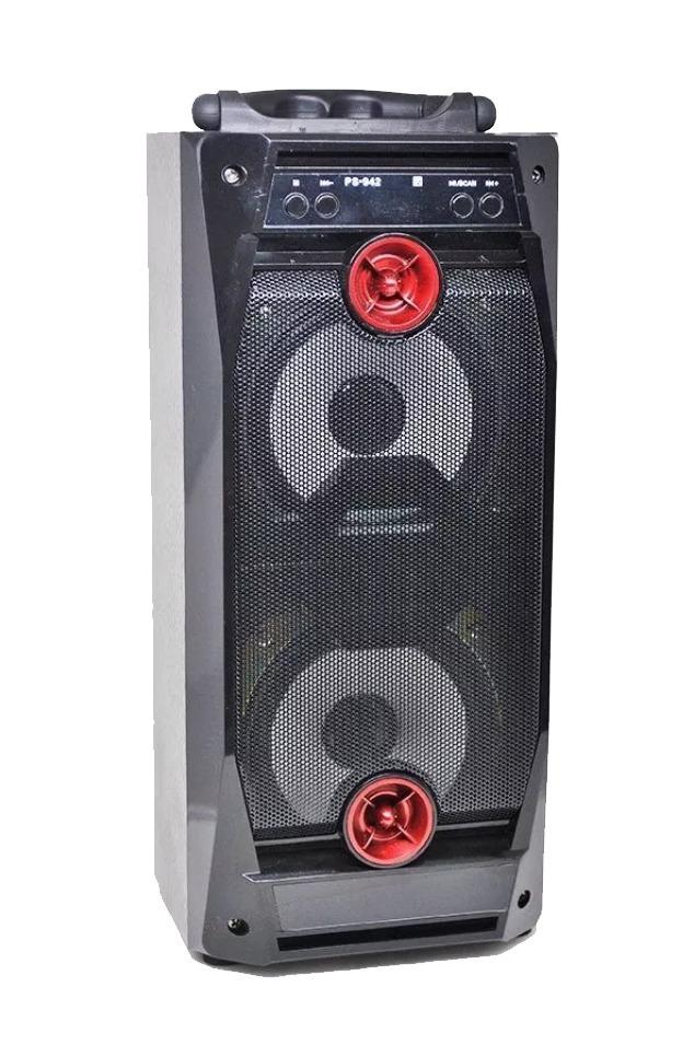 Parlante Bluetooth Usb Memoria Sd Radio Fm 300w Recargable
