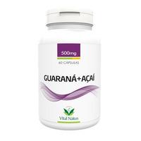 Guarana + Acai - 60 capsulas 500mg - Vital Natus