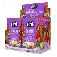 Balas de Gelatina Natural Sweets Colageno - Cx.12x18g - Fini