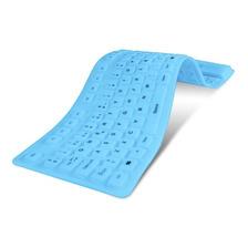 Teclado Flexible Impermeable Pc Notebook Netbook Nkb-76 Noga