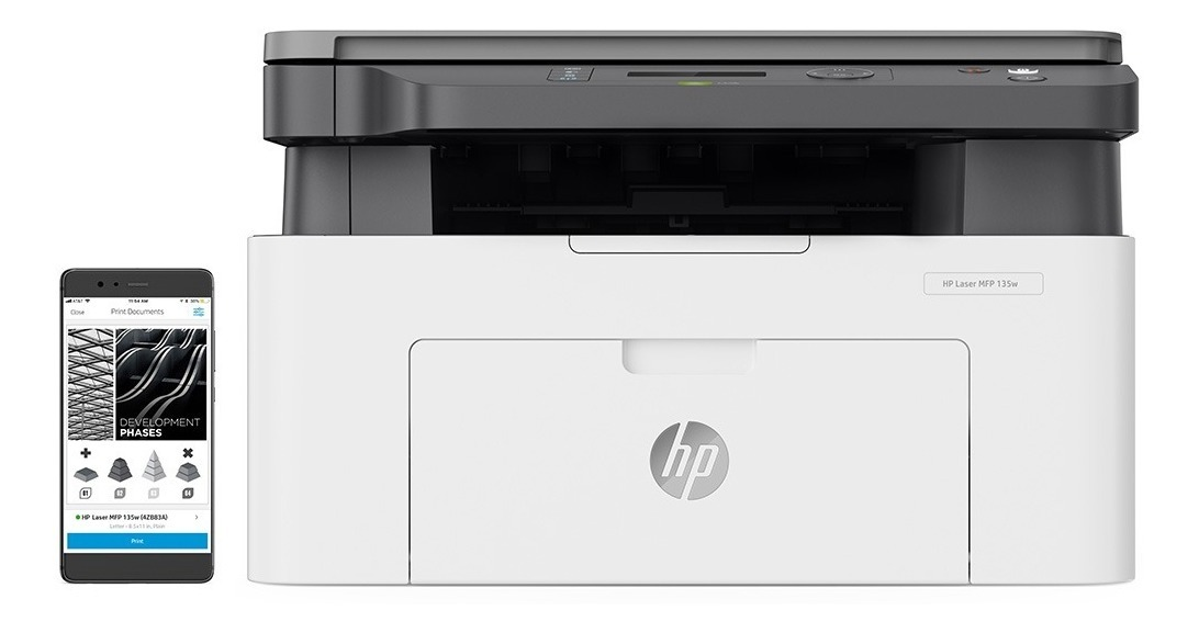 Impresora Laser Multifuncion Hp M135w Wifi Windows Mac Gtia