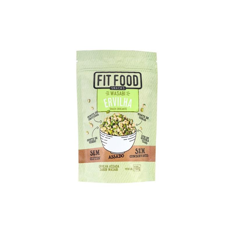 Snack de Ervilha com Wasabi - 100g - Fit Food