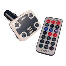 Transmisor Bluetooth De Audio Y Mp3 Para Auto Ng-26 Noganet