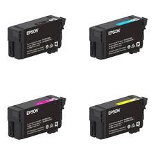 Combo Cartuchos Epson T40v P/ Plotter T3170 Negro + Colores