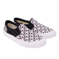 Sneakers bicolor estampados 011758