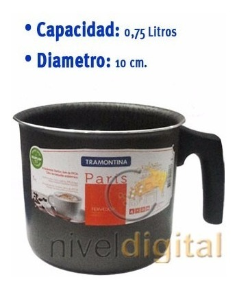 Jarro Antiadherente Starflon Tramontina 0.75 L Jarrito Gtia