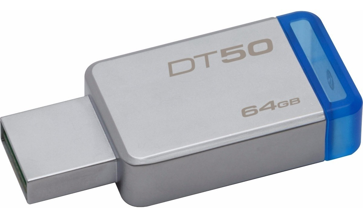 Pendrive 64gb Kingston Dt50 Usb 3.0 Pen Drive Original Gtia